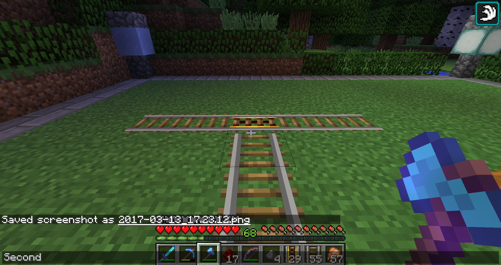 A Genius Of Train Rails Can Anyone Help Me Redstone