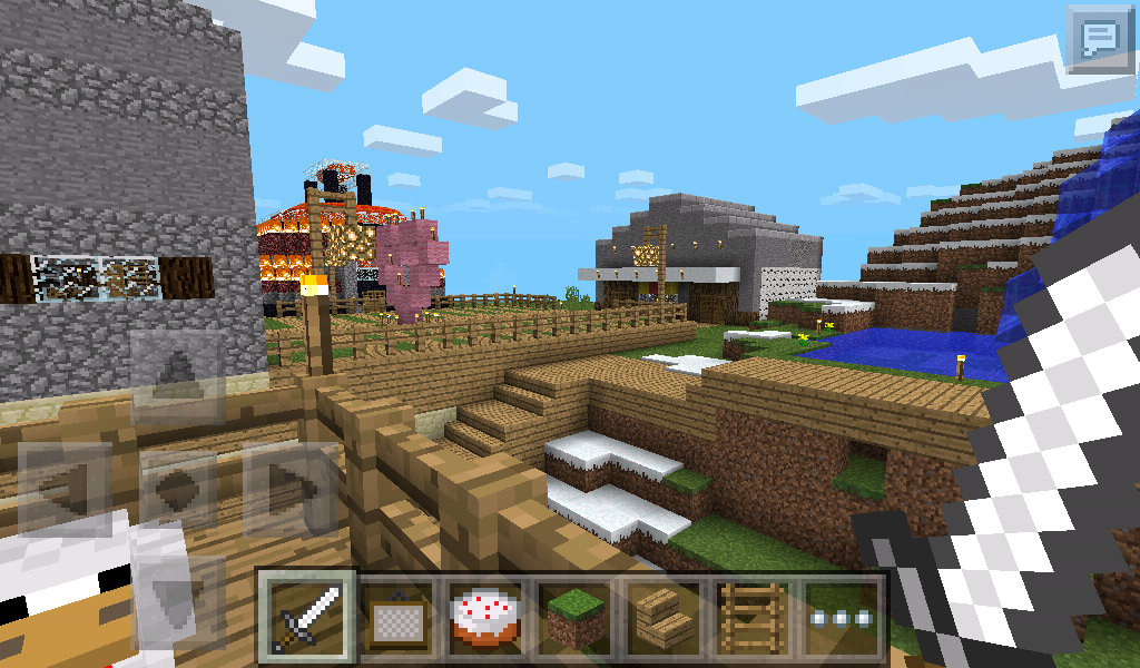 MCPEstampys lovely world map new v11 update includes infinite