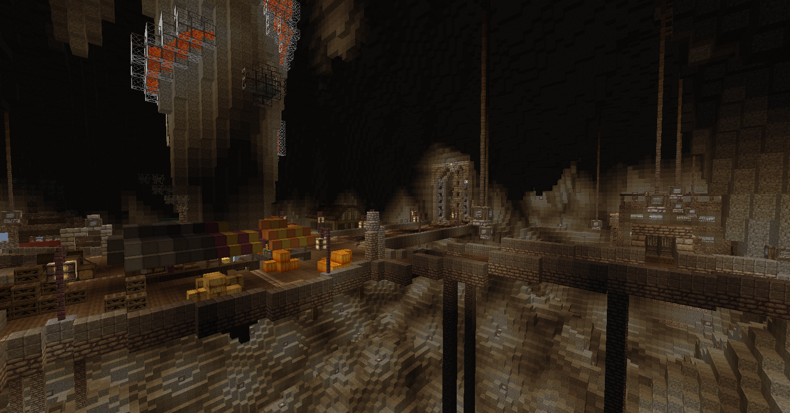 how to build a cave in minecraft