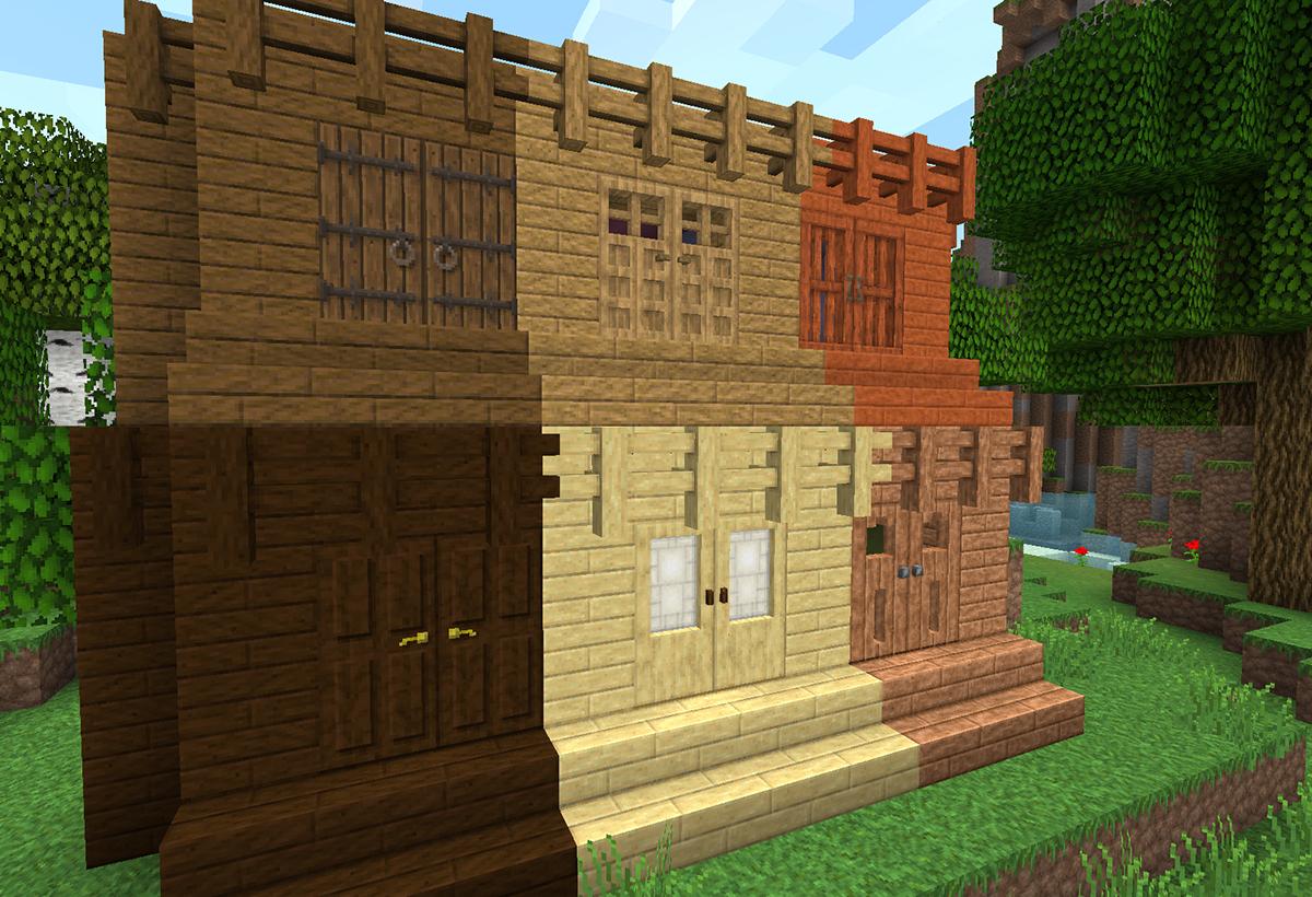 Wooden Fence Minecraft