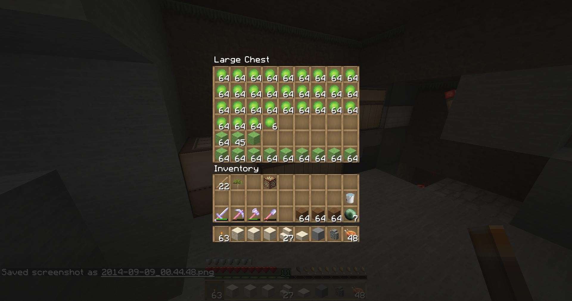 Slime farm error 18 recent updates and snapshots minecraft 2014 09 09004453 ccuart Choice Image