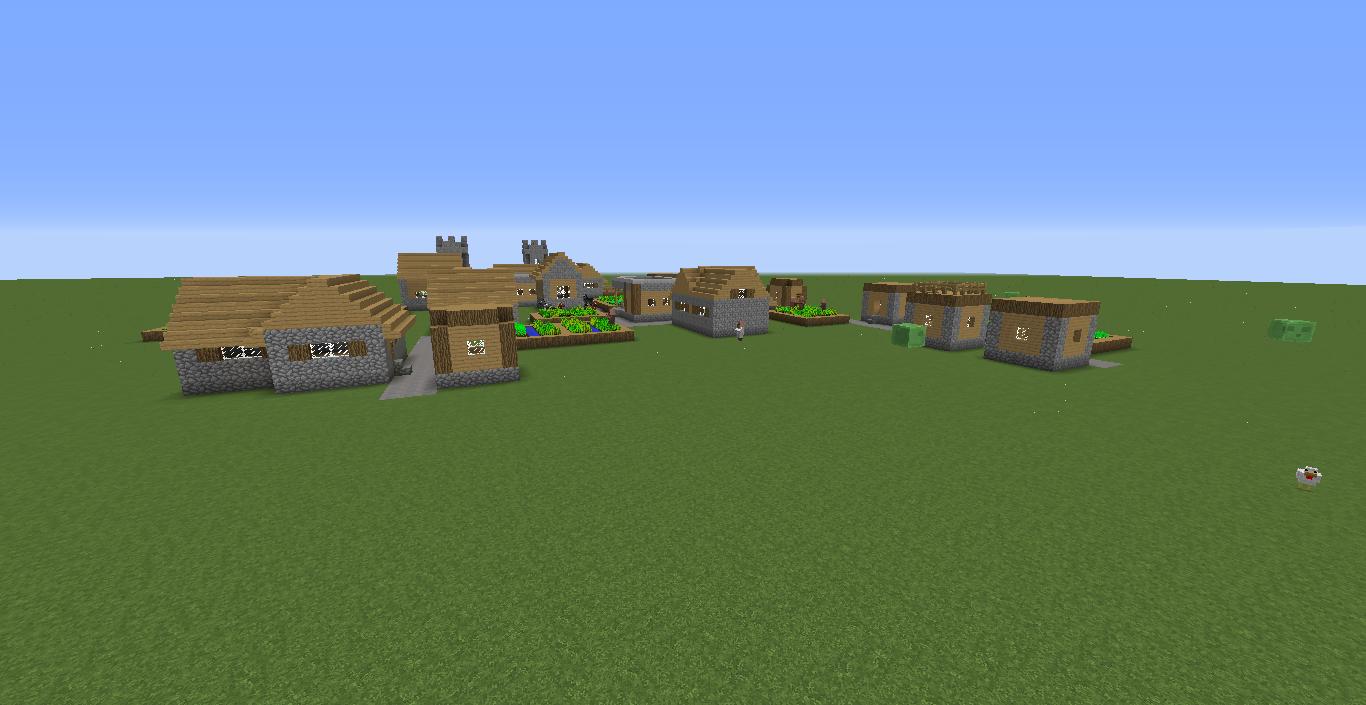 Flat Minecraft Seed Village Wwwimagessurecom