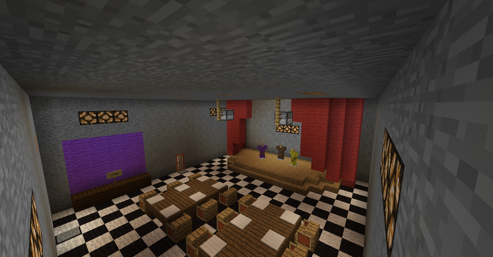 Pin minecraft freddys nights at five five nights at fredys no download