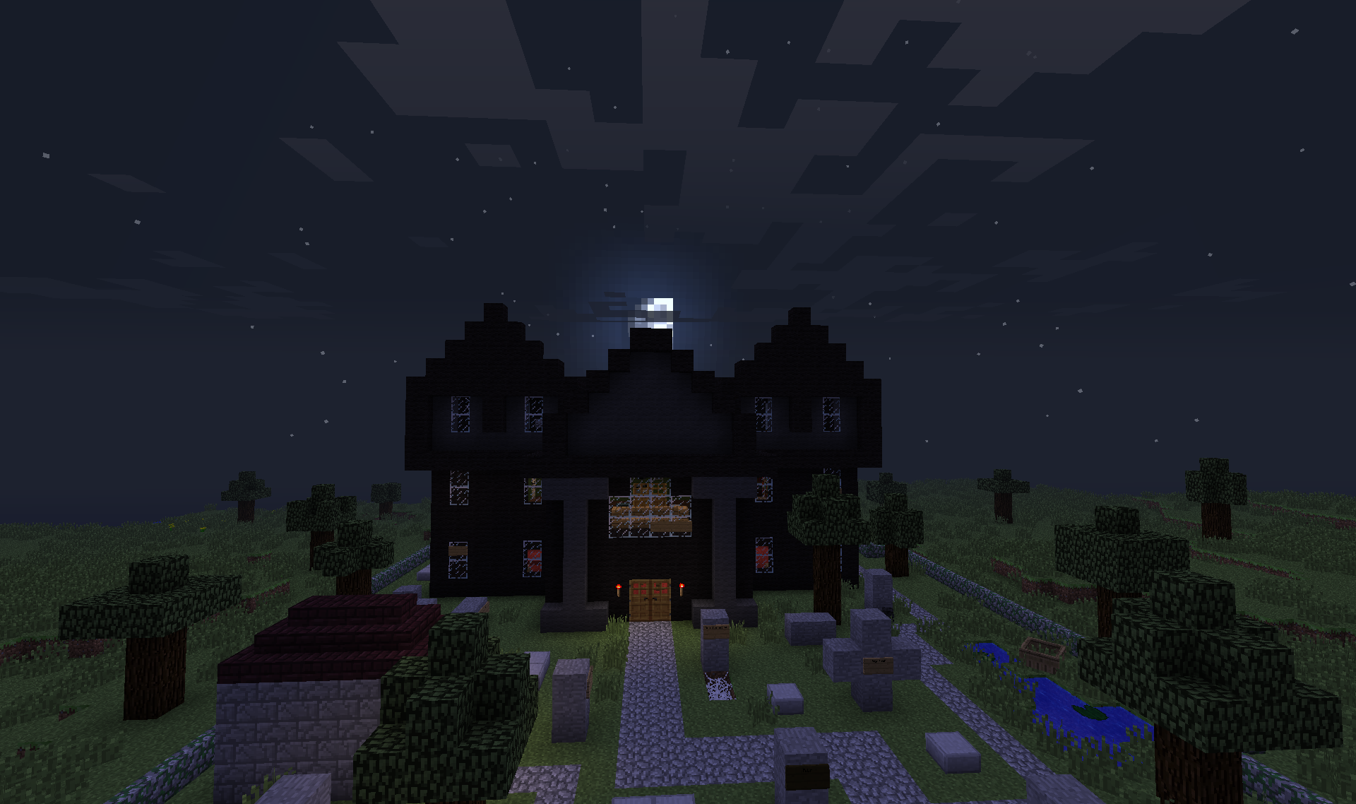 Haunted House Suggestions Minecraft Java Edition