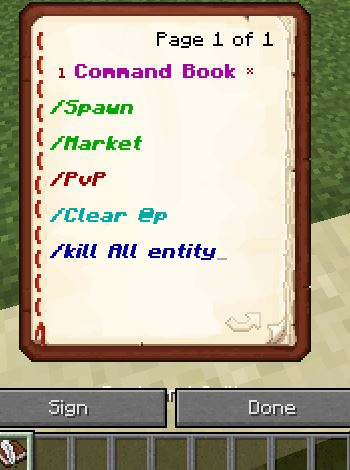 written book[clickable] command block - Redstone Discussion and ...