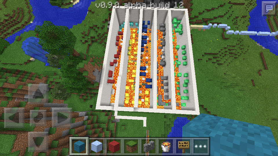 Upside down house with parkour - MCPE: Maps - Minecraft: Pocket ...