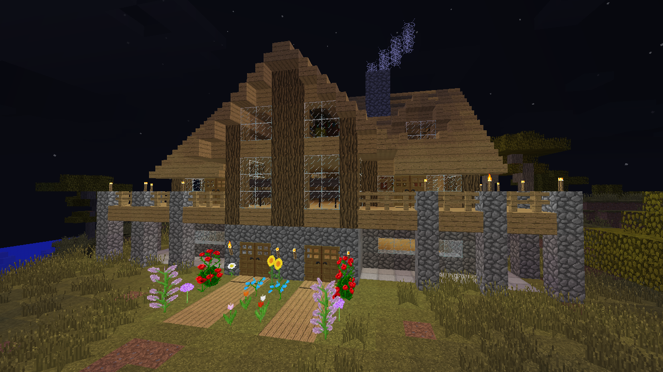 Minecraft Construction Handbook How To Build The Wooden House