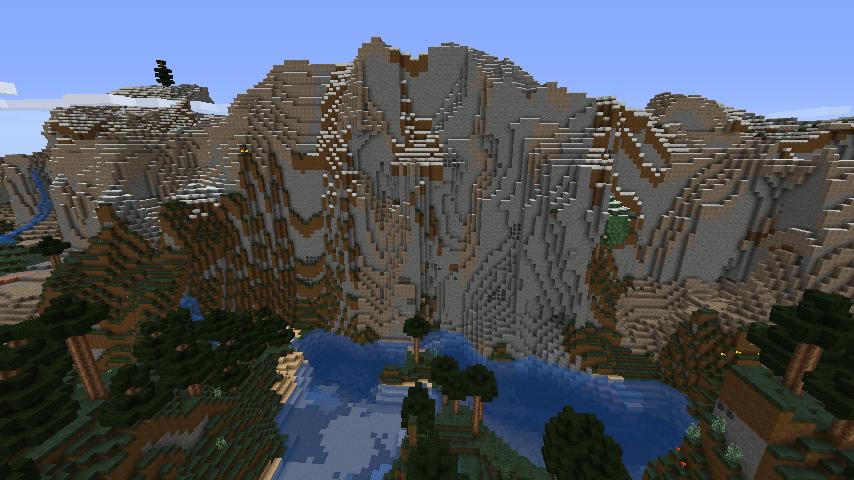 Minecraft   Extreme Hills Islands Seed