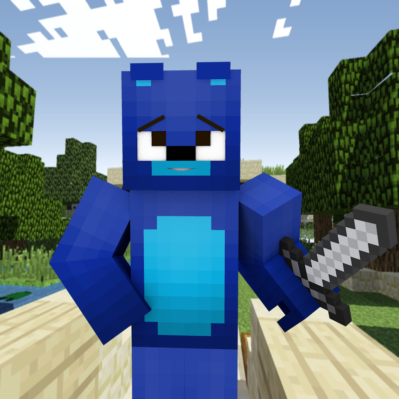 TheTechSn1per's Free 3D Minecraft Avatar And Background