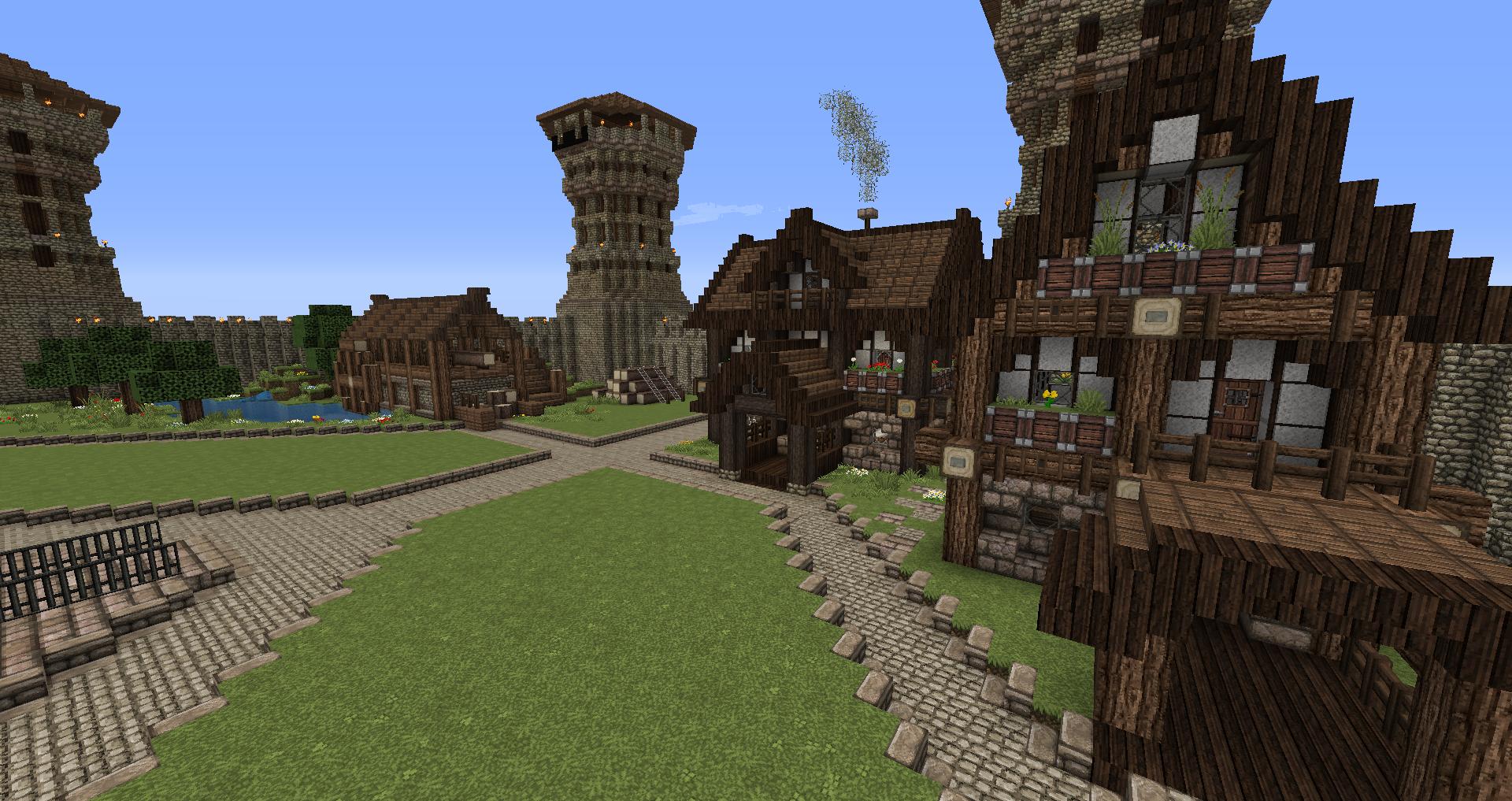 HUGE Medieval Castle/Tower (need help building) - Creative ...