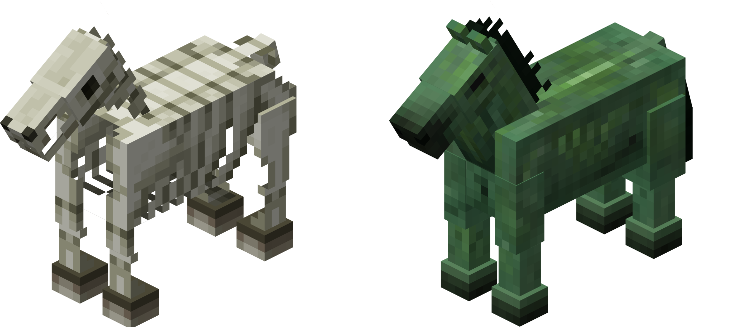 Minecraft zombie horse images for Zombie build