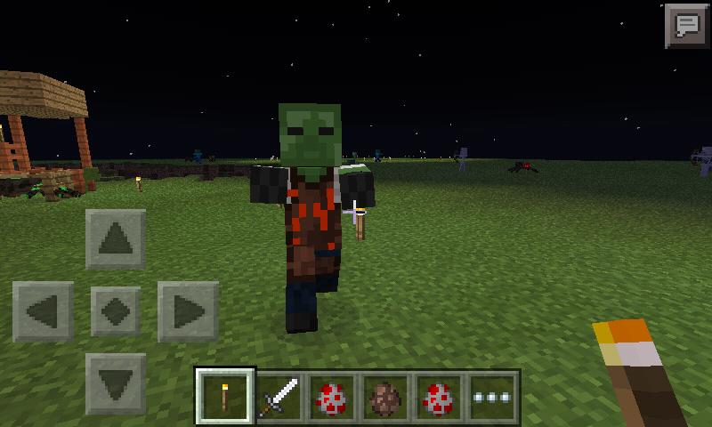 Скачать моды для Minecraft Pocket Edition 1.0.0, 0.16.0, 0 ...