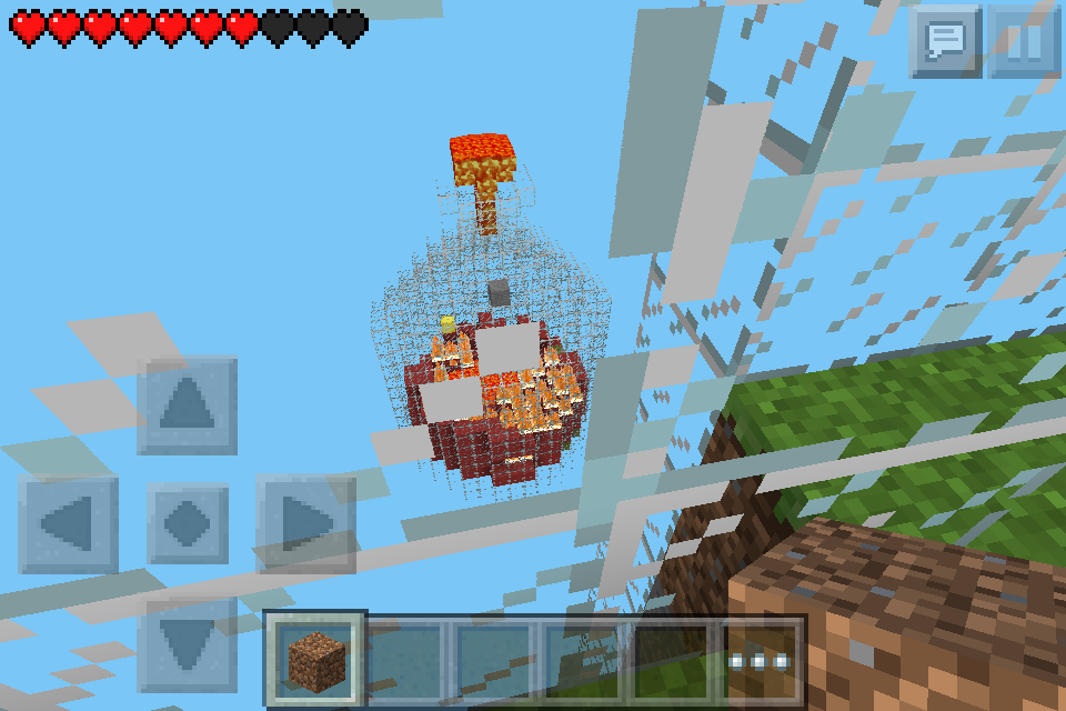 how to make glass panes in minecraft pocket edition
