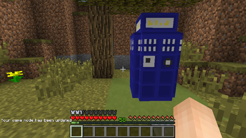 minecraft 14w26c 1 8 snapshot tardis map maps mapping and