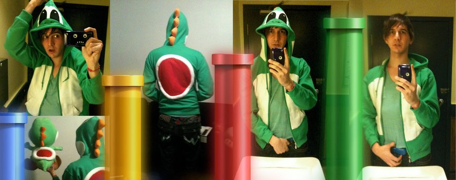 FOR DELETION  - Skins Yoshi Hoodie