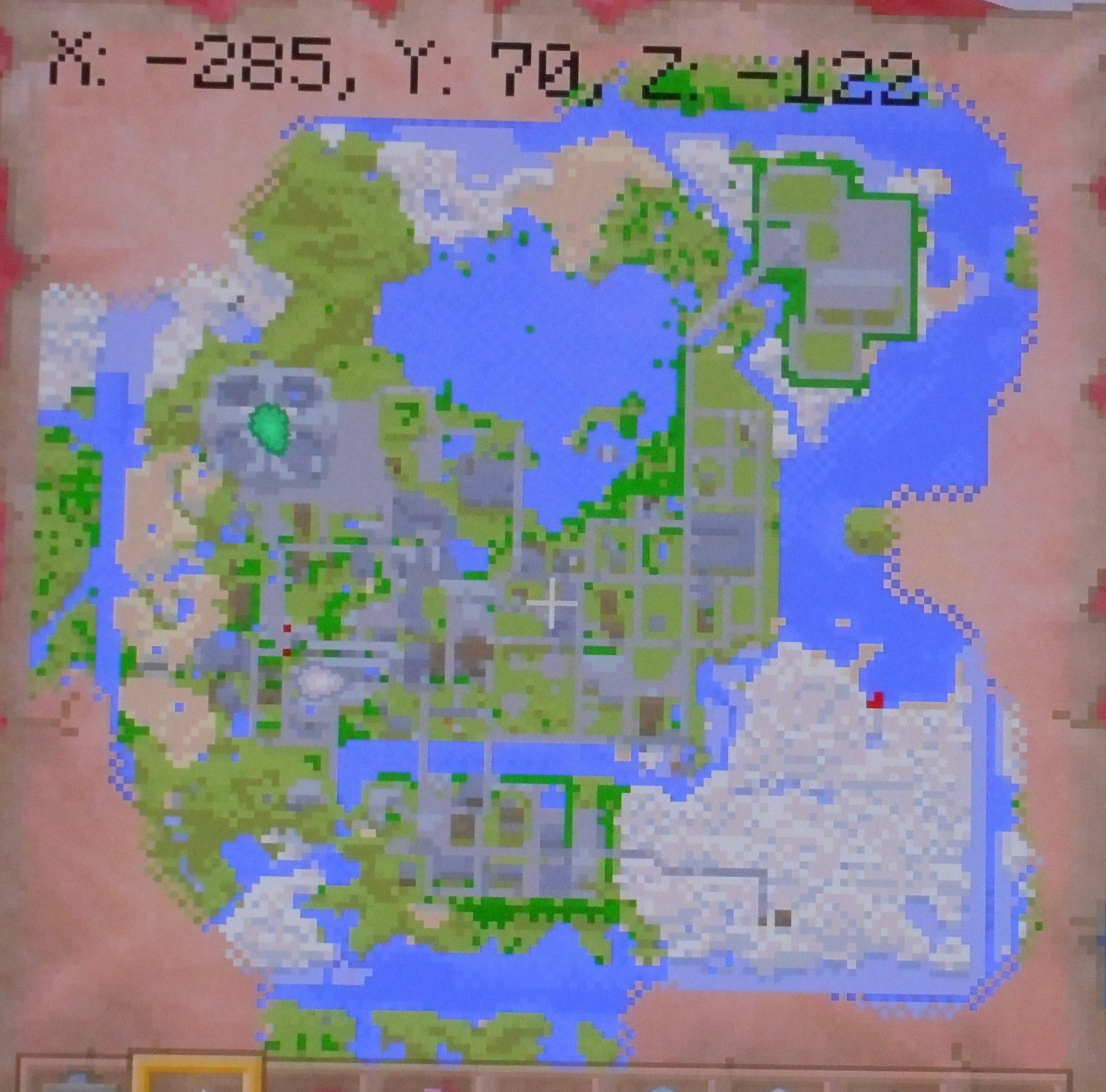 Map of Maps For Minecraft Xbox 360, - World Map Database