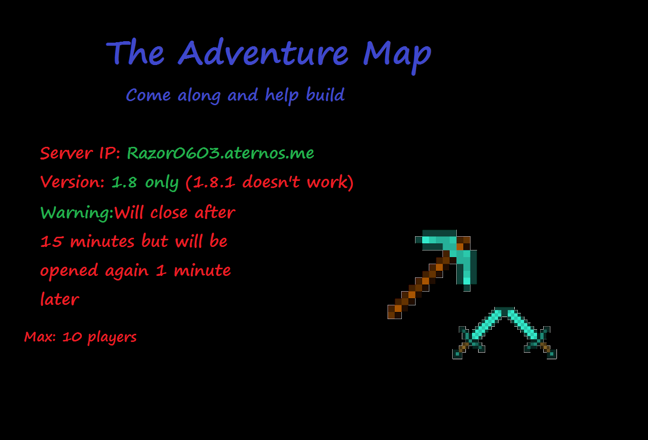 how to make a minecraft adventure map pc