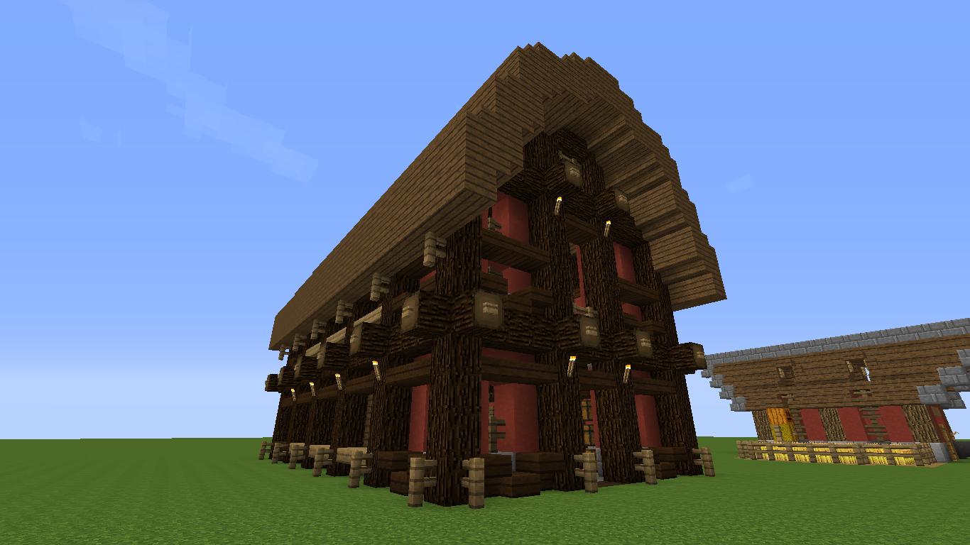 barn minecraft
