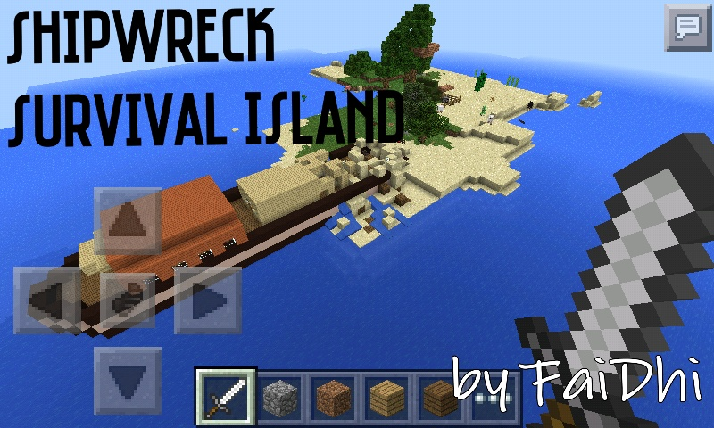 0 9 0 shipwreck survival island link fixed for Explore craft survival pe