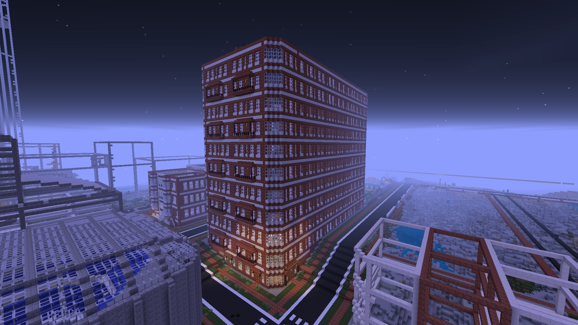 Modern city mcps4 show your creation archive minecraft forum minecraft forum - Minecraft modern ...