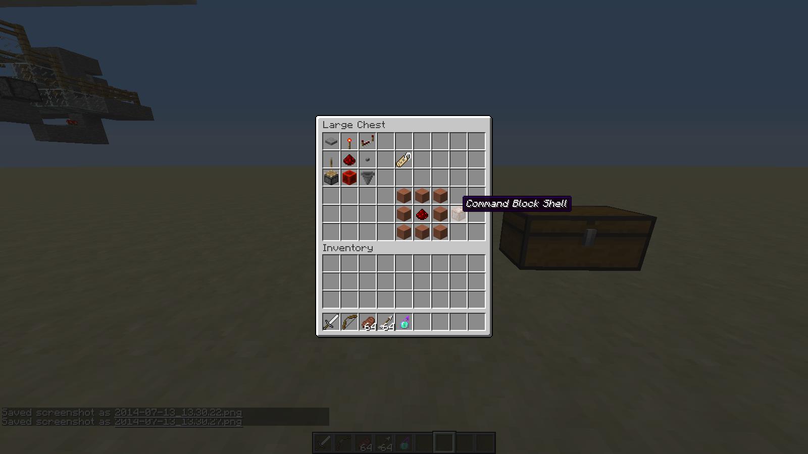 Command Block Crafting Recipe