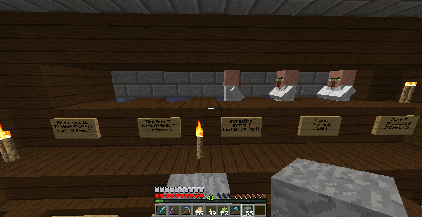 how to talk to villagers in minecraft