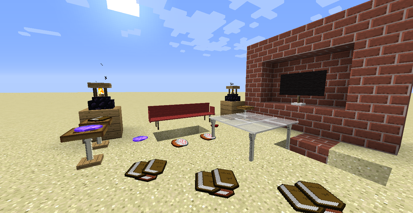 Minecraft Furniture furniture in vanilla minecraft! [with link] - commands, command