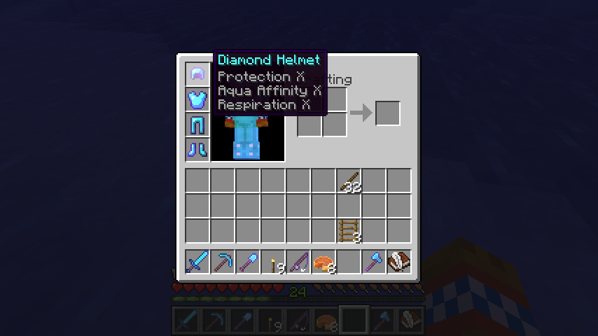 minecraft how to get a op diamond sword