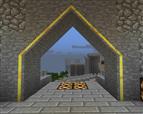 Guilded doorframe