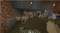 Chickens During Blood Moon