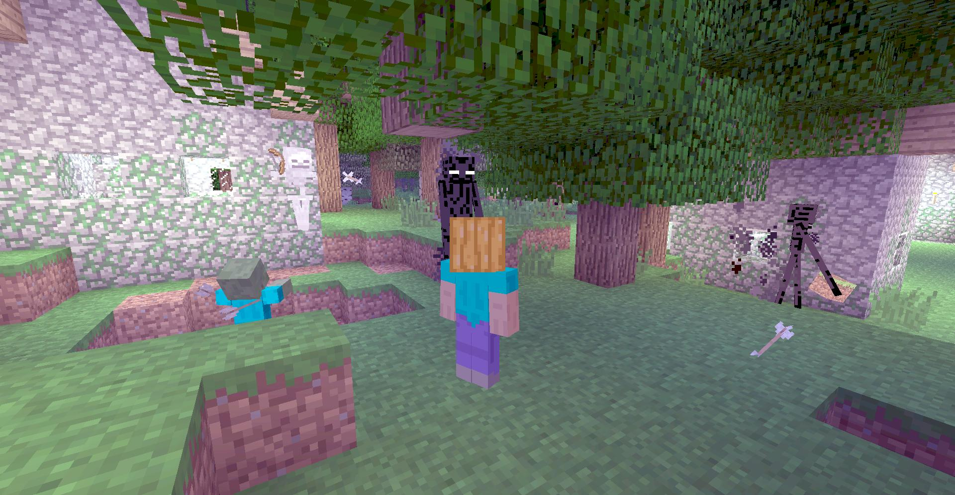 Endermen are the residents to NPC Villages - Discussion - Minecraft