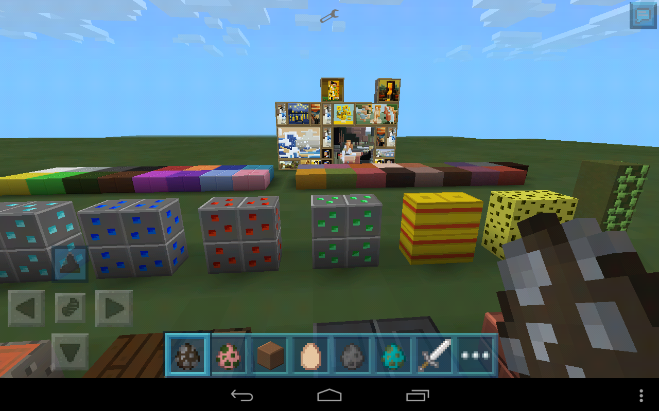 Minecraft pocket edition plastic texture pack 09x mcpe texture screenshot2014 07 18 03 31 28 sciox Image collections