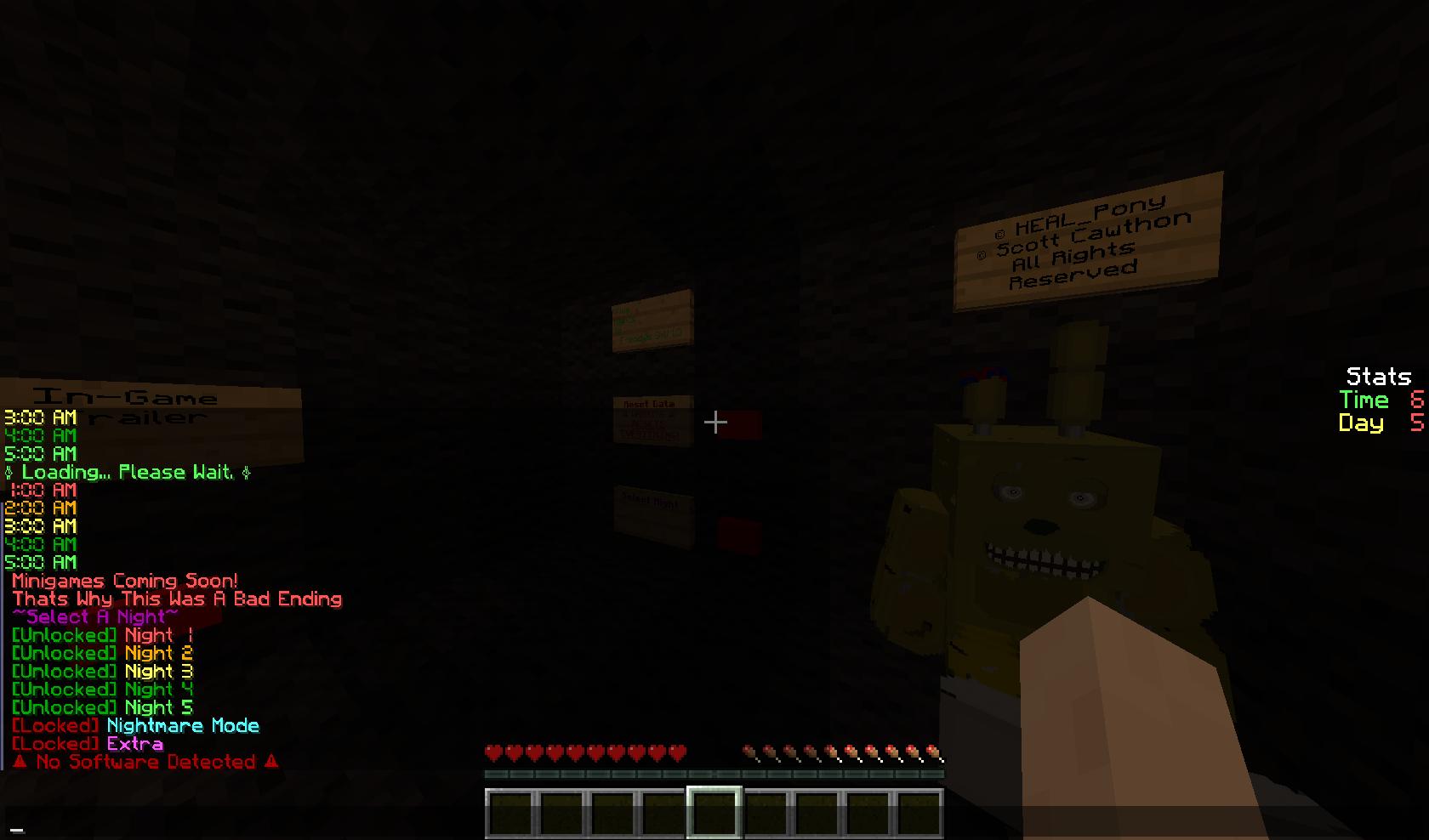 Five Nights At Freddy S 2 Minecraft Gamejolt | Gameswalls org