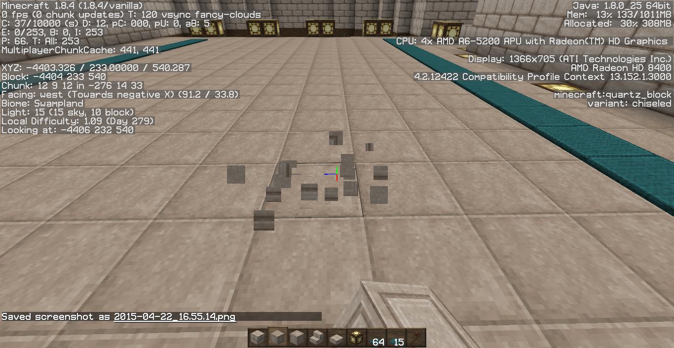 Minecraft Freezes When Placing Blocks - Java Edition Support