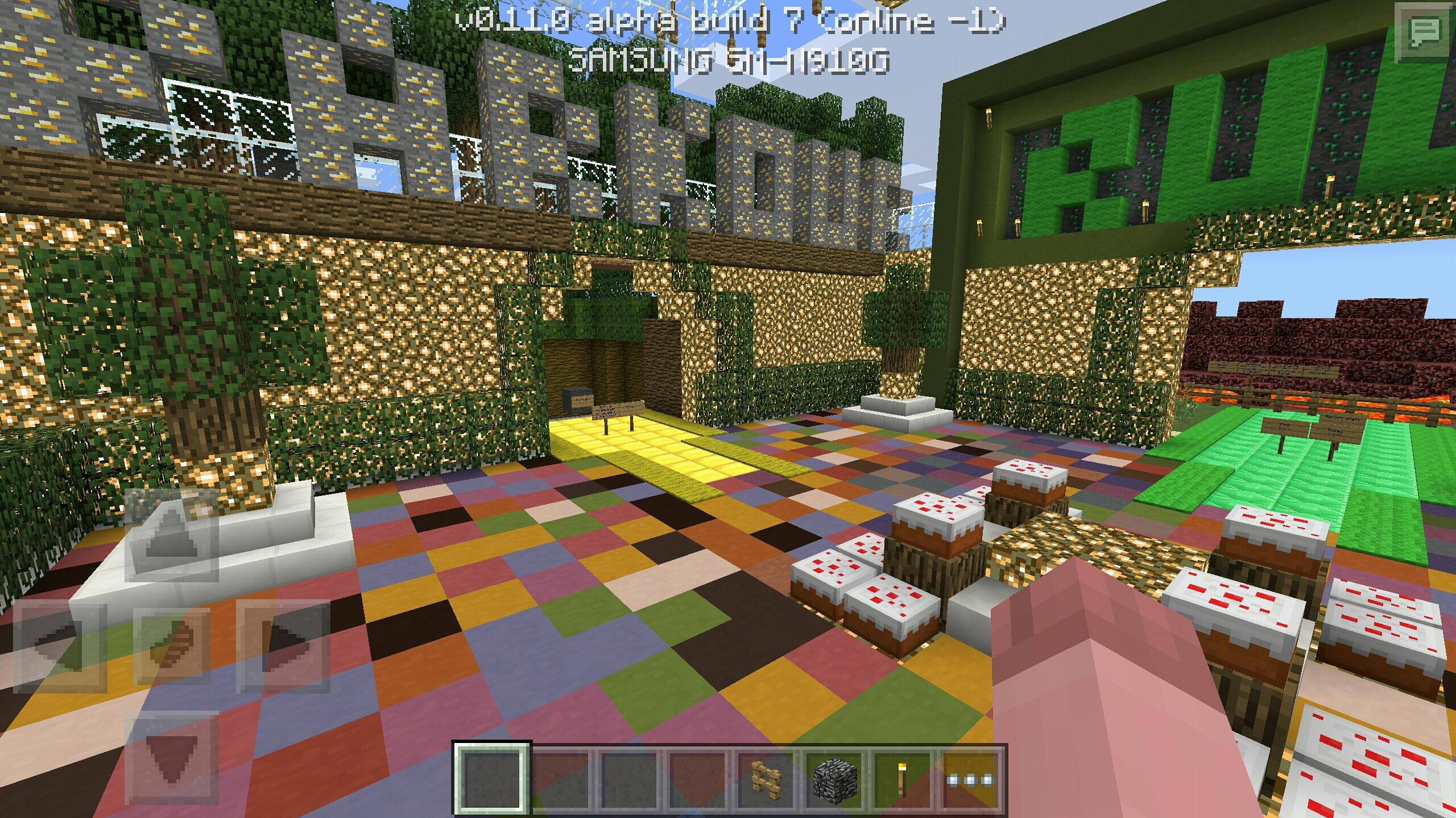 servere minecraft pe 0.11.0