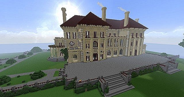 Huge Minecraft Houses The Biggest House In