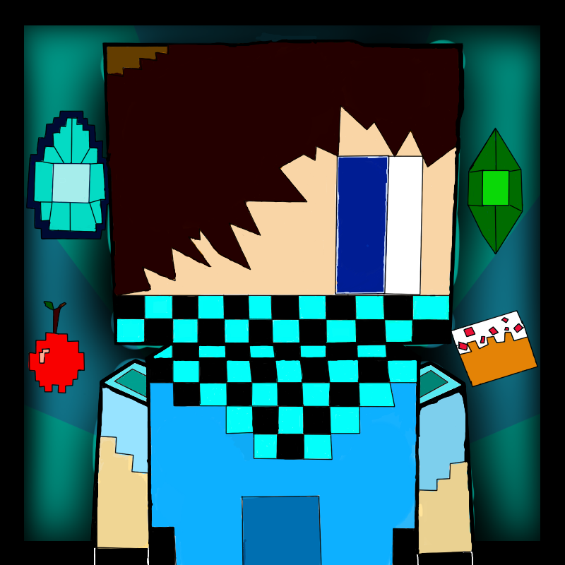 Minecraft avatar skin drawings or a rendered avatar art shops minecraft youtube profile pic template 1 maxwellsz