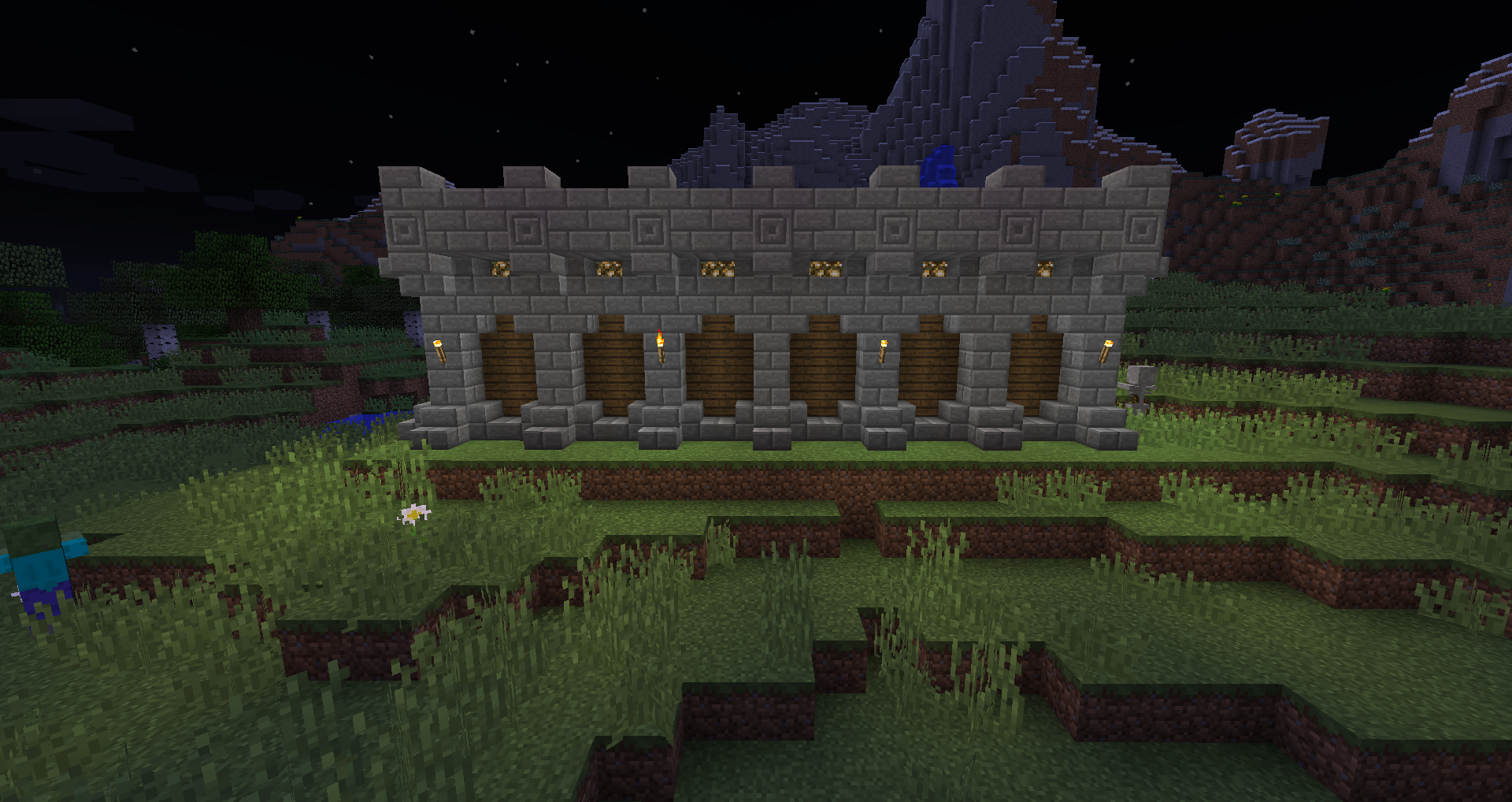 Cobblestone Walls Build