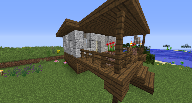 Building With The New Stone Creative Mode Minecraft