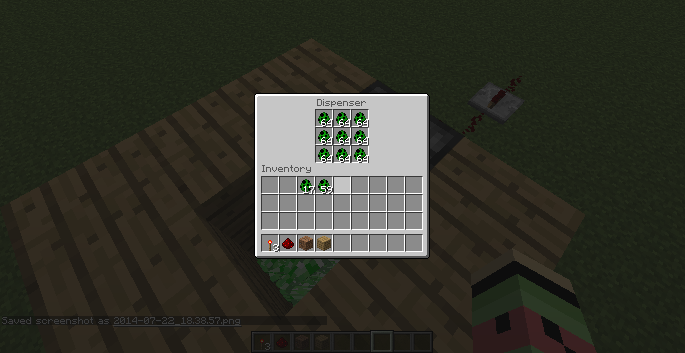 How To Craft A Dispenser In