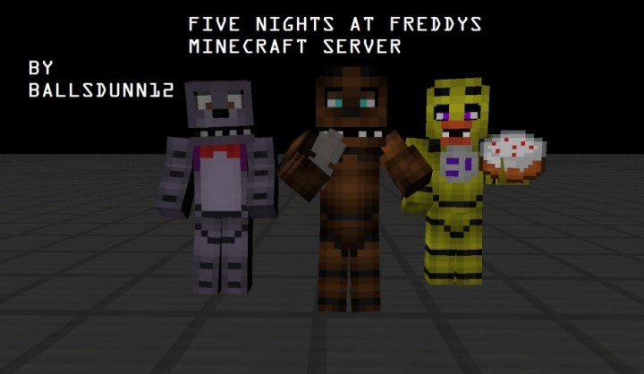 FIVE NIGHTS AT FREDDYS MINECRAFT SERVER PC Servers Servers Java - Minecraft fnaf spielen