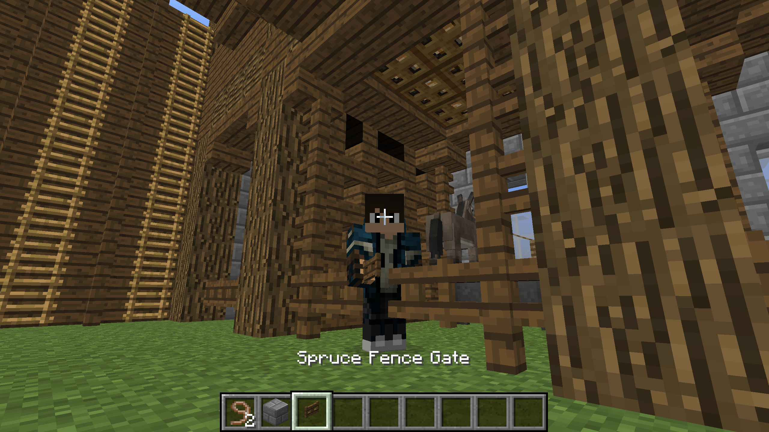 fence gate minecraft. 2015-06-27_18.38.00 Fence Gate Minecraft E