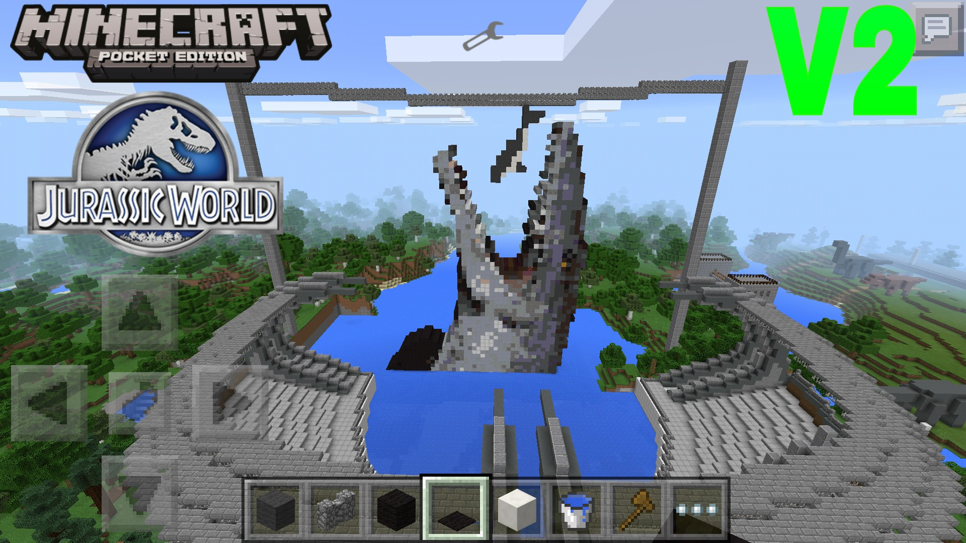 Jurassic world v2 mcpe discussion minecraft pocket edition picsart1436565859832 gumiabroncs Images
