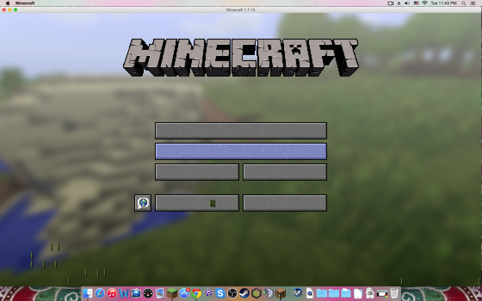 Modded survival chat problem mac java edition support support screen shot 2015 07 14 at 114312 pm ccuart Gallery