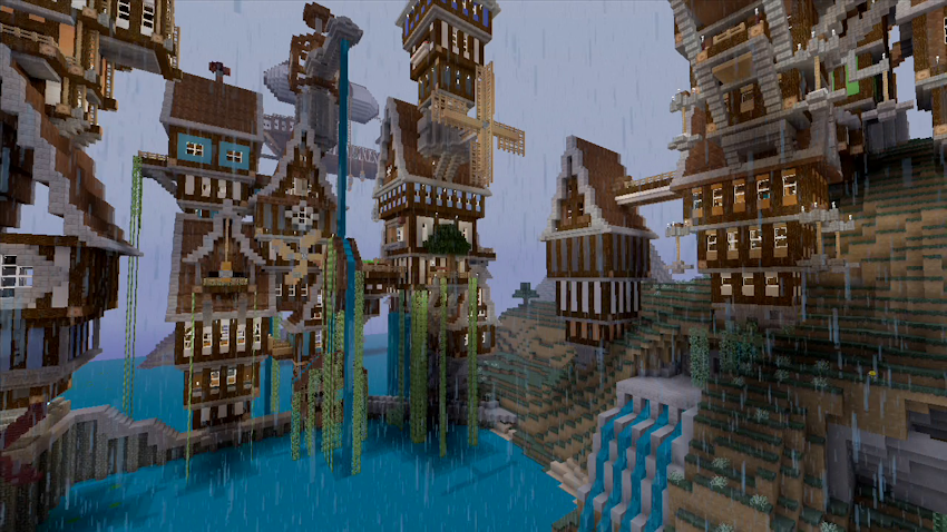 how to make a steampunk city in minecraft