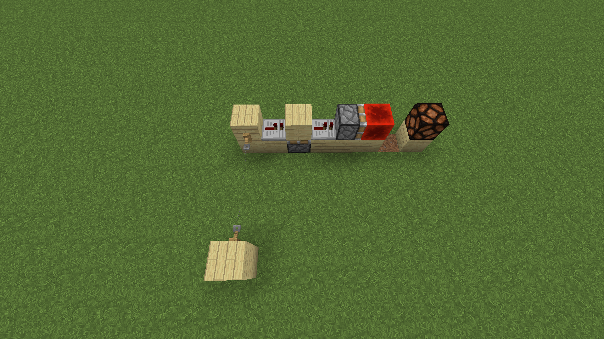 Need Redstone Tripwire Help Discussion And Mechanisms Flipflop Circuit Build Demo Youtube T Flip Flop Off