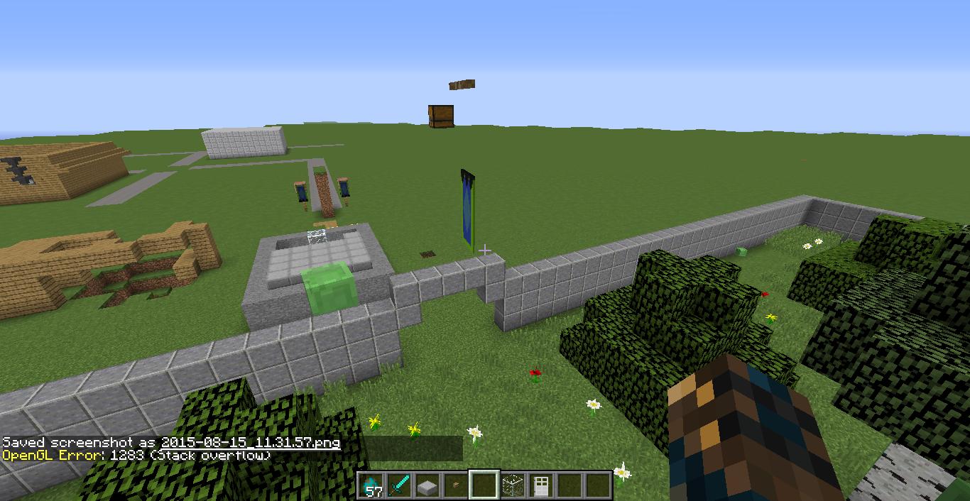 minecraft opengl error 1283