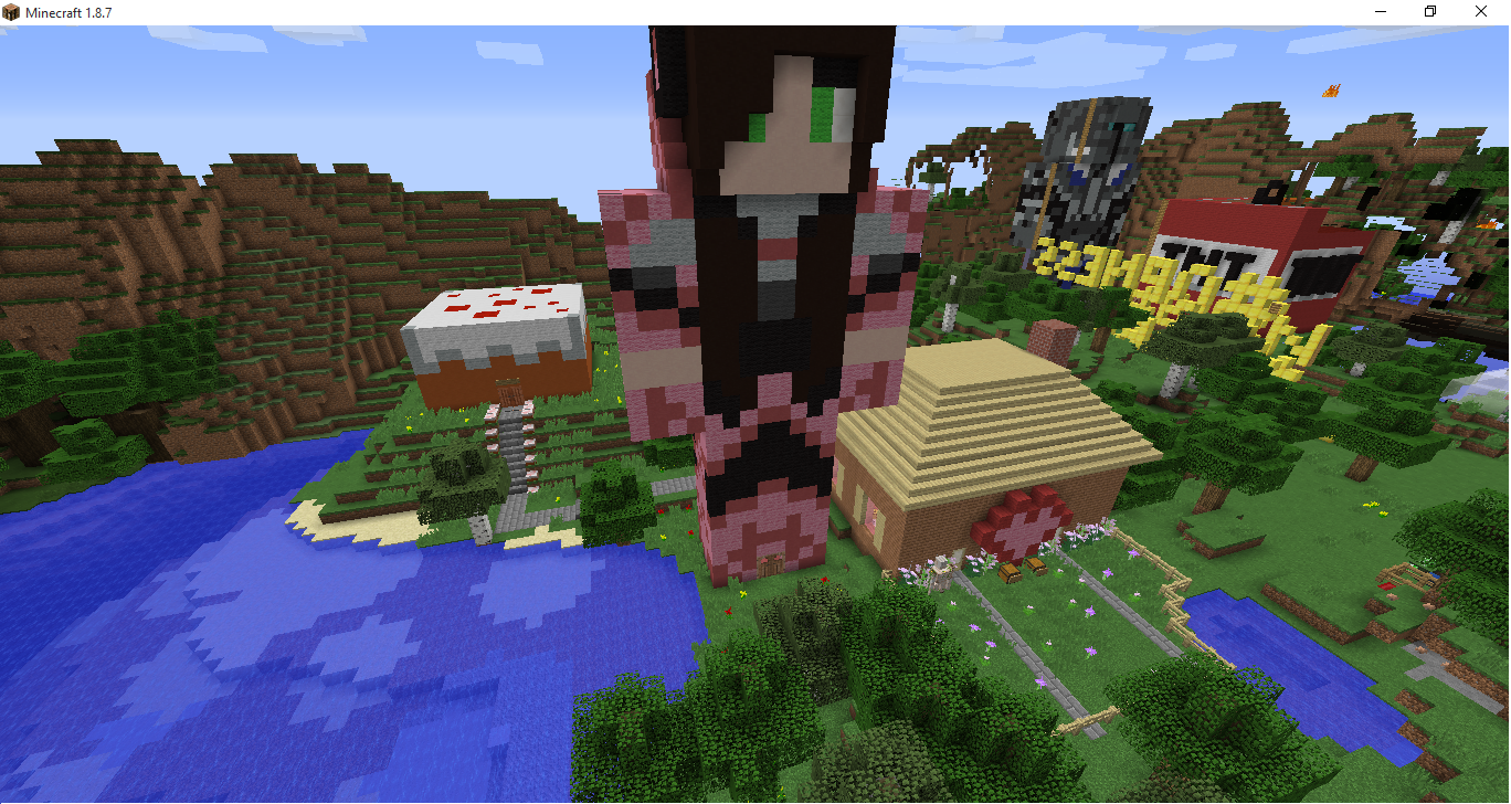 91236e75 Hunger Games Map for PopularMMOs and GamingwithJen :) - Maps ...