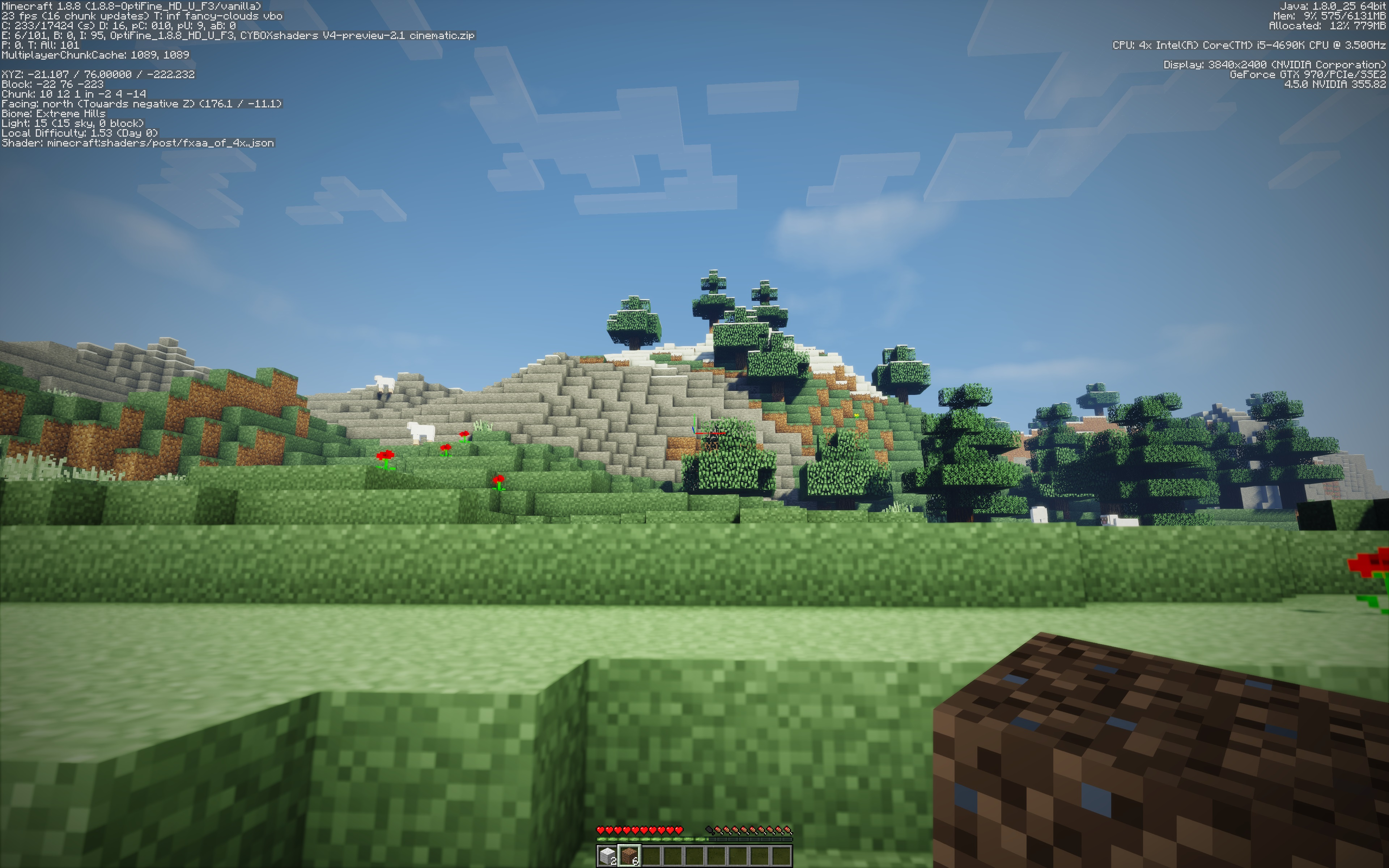 Have you ever wondered what Minecraft would look like in 4K?