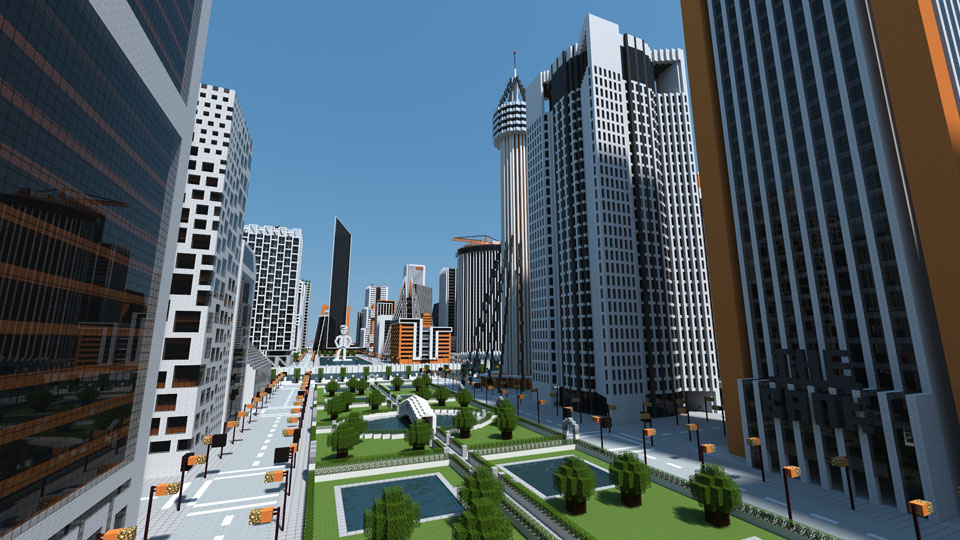 Cre ono city a huge modern city in minecraft maps mapping and ono inc city58 3214 gumiabroncs Images